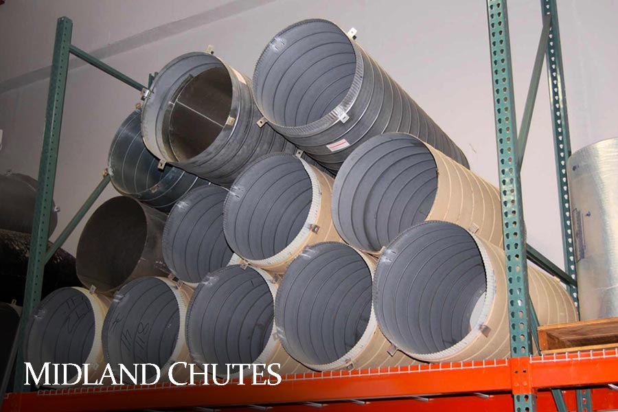 Midland Chutes - The worlds preferred manufacturer of linen and rubbish chutes.